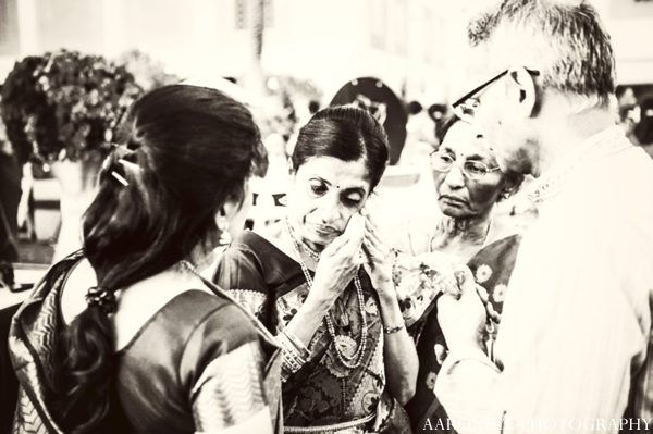 Indian wedding ceremony black and white photography
