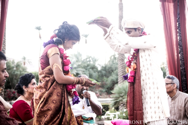 Indian wedding ceremony rituals outdoors