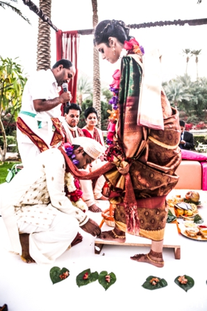 Indian wedding ceremony traditional customs bride groom