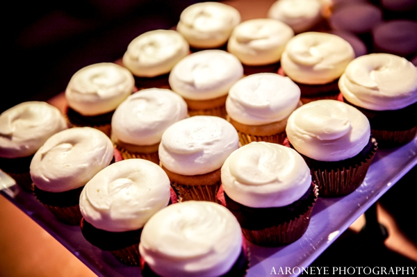 Indian wedding cupcakes reception ideas