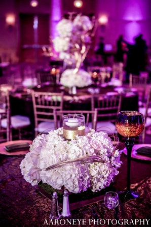 Indian wedding floral centerpiece