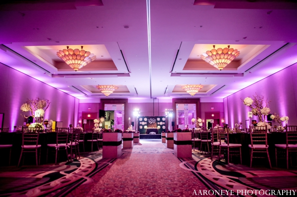 Indian wedding lighting decor reception venue