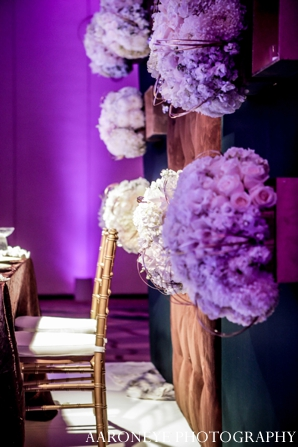 Indian wedding reception floral decor ideas