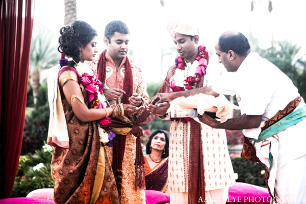 Indian wedding tradtional customs ceremony outdoors