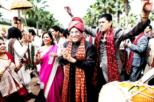 Baraat indian wedding in Huntington Beach, California Sikh Wedding by Aaroneye Photography