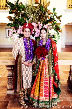 Indian bride groom portrait in Huntington Beach, California Sikh Wedding by Aaroneye Photography