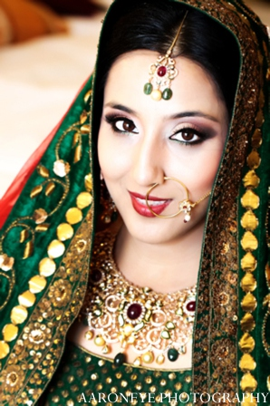 Indian bride photo in Huntington Beach, California Sikh Wedding by Aaroneye Photography