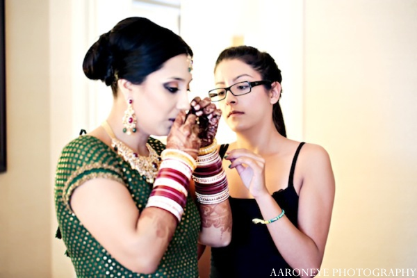 Indian bride in Huntington Beach, California Sikh Wedding by Aaroneye Photography