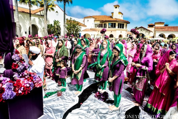 Indian wedding gujurati ceremony in Huntington Beach, California Sikh Wedding by Aaroneye Photography