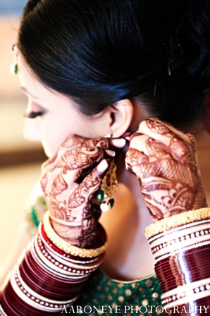 Indian wedding jewelry in Huntington Beach, California Sikh Wedding by Aaroneye Photography
