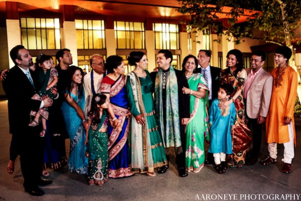 Indian wedding party pictures in Huntington Beach, California Sikh Wedding by Aaroneye Photography