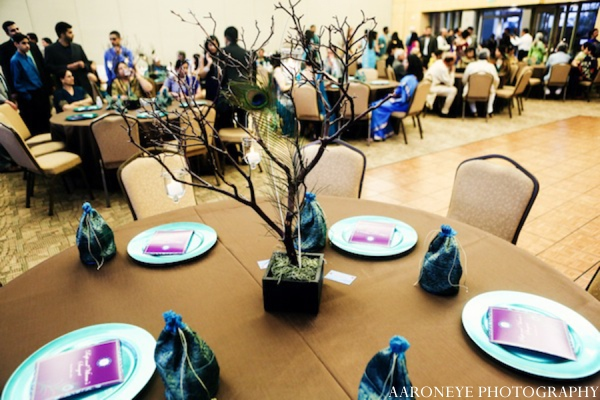 Indian wedding tablesetting in Huntington Beach, California Sikh Wedding by Aaroneye Photography