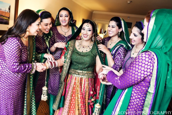 Sikh bride photos in Huntington Beach, California Sikh Wedding by Aaroneye Photography