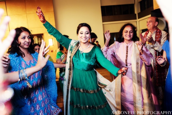 Sikh sangeet bride in Huntington Beach, California Sikh Wedding by Aaroneye Photography