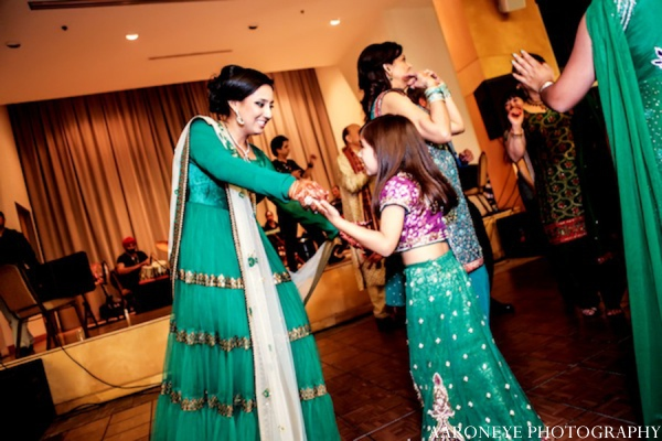 Sikh sangeet outfits in Huntington Beach, California Sikh Wedding by Aaroneye Photography