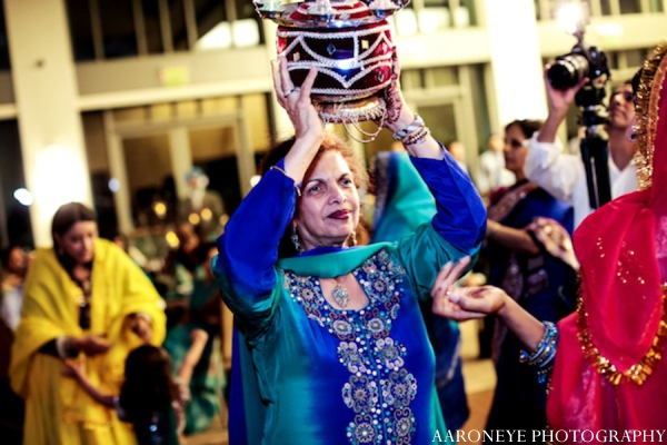 Sikh sangeet rituals in Huntington Beach, California Sikh Wedding by Aaroneye Photography