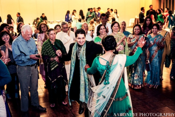 Sikh sangeet tradition in Huntington Beach, California Sikh Wedding by Aaroneye Photography