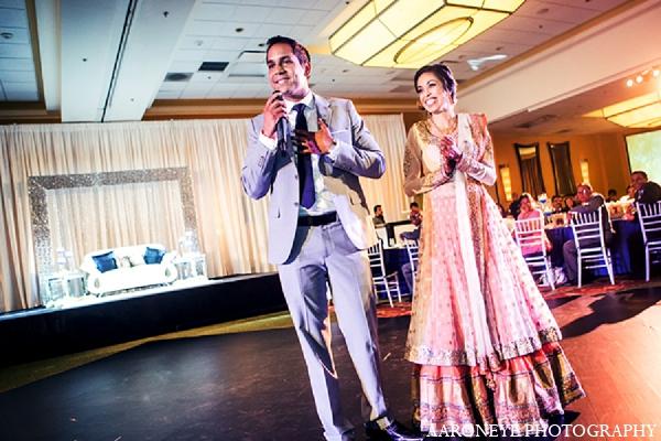 Indian groom bride wedding reception in Newport Beach, California Indian Wedding by Aaroneye Photography
