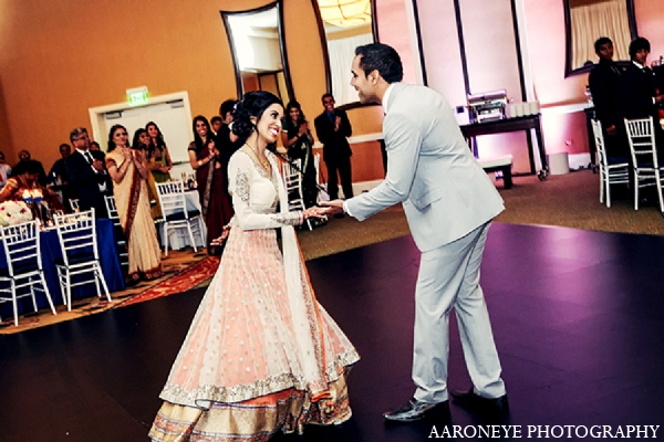 white,pale orange,indian bridal fashions,salmon,aaroneye photography,indian bride,images of brides and grooms