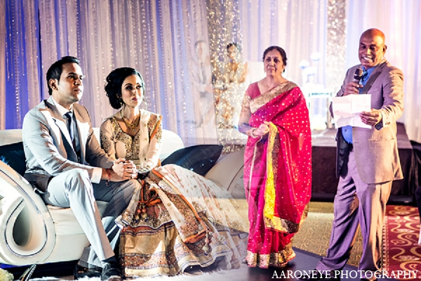 Indian wedding reception photography bride groom in Newport Beach, California Indian Wedding by Aaroneye Photography