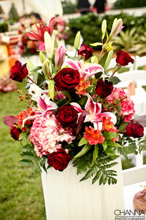 Indianweddingceremonyflowerbouquetidea