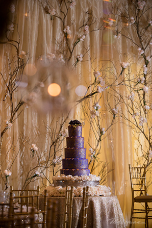 Indian-wedding-purple-cake-idea