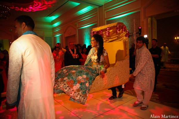 Indian wedding sangeet party celebration