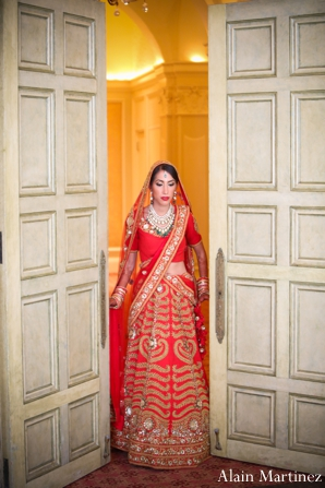 Indian wedding bride traditional ceremony dress