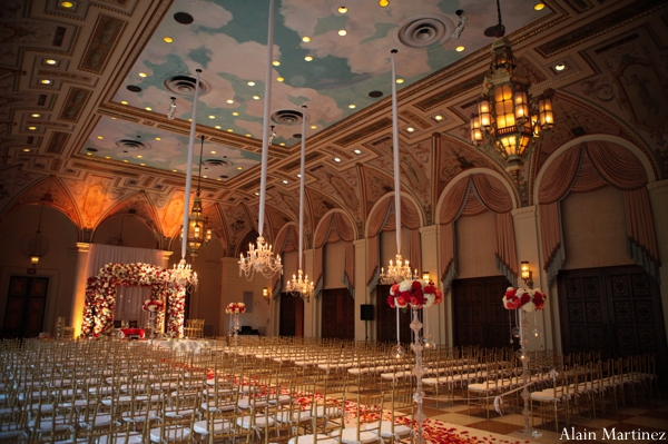 Indian wedding ceremony venue decor
