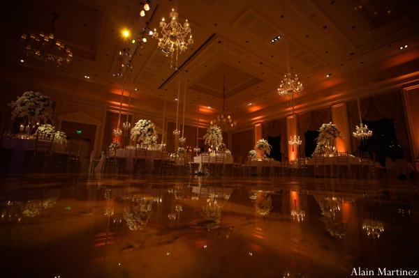 Indian wedding reception venue photography
