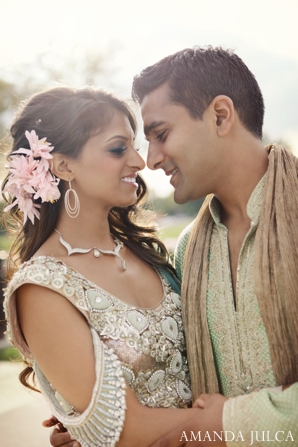 Indian wedding bride groom sangeet portraits in Columbus, Ohio Indian Wedding by Amanda Julca