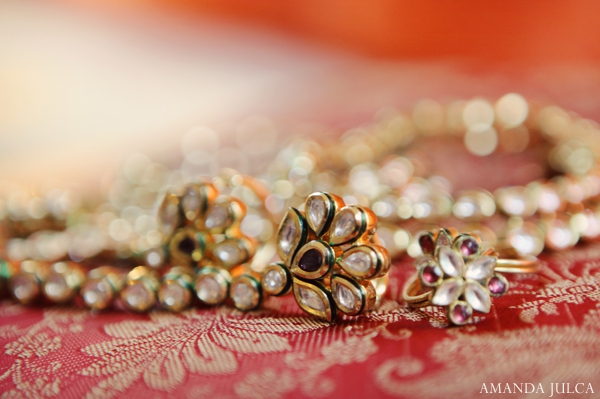 Indian wedding bridal jewelry traditional in Columbus, Ohio Indian Wedding by Amanda Julca