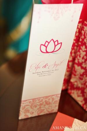 Indian wedding bridal ceremony program in Columbus, Ohio Indian Wedding by Amanda Julca