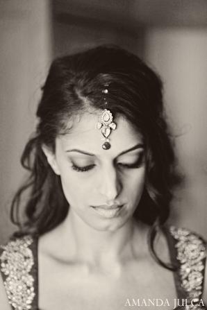 Indian wedding bridal traditional portrait in Columbus, Ohio Indian Wedding by Amanda Julca