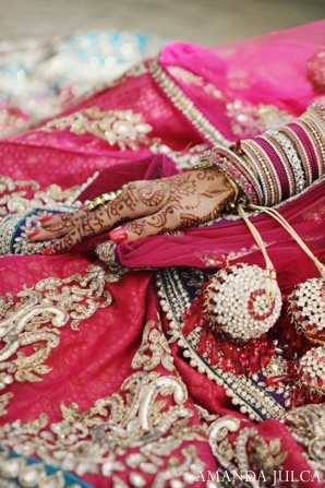 Indian wedding bridal fashions bangles in Columbus, Ohio Indian Wedding by Amanda Julca