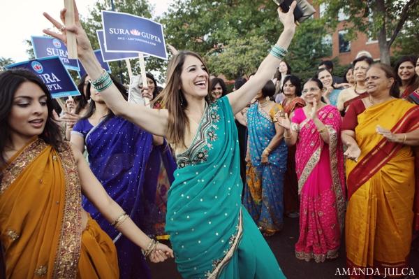 Indian wedding traditional groom baraat in Columbus, Ohio Indian Wedding by Amanda Julca