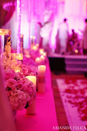 Indian ceremony lighting decor inspiration in Columbus, Ohio Indian Wedding by Amanda Julca