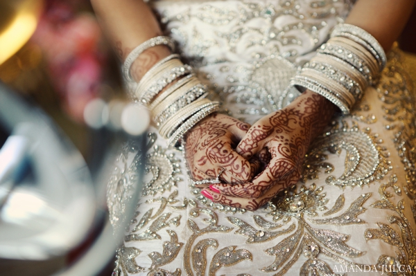 Indian wedding bride inspiration fashion in Columbus, Ohio Indian Wedding by Amanda Julca