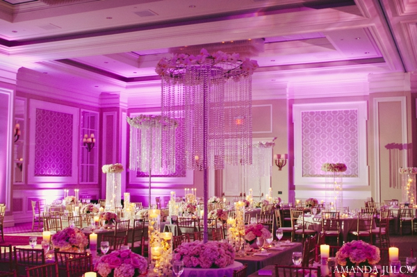 hot pink,Floral & Decor,Lighting,Planning & Design,reception lighting,indian wedding reception,reception decor and lighting,reception wedding floral,AMANDA JULCA,wedding reception venue,inspiration for wedding floral