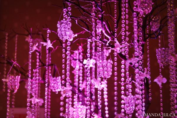 Indian wedding reception decor lighting inspiration in Columbus, Ohio Indian Wedding by Amanda Julca