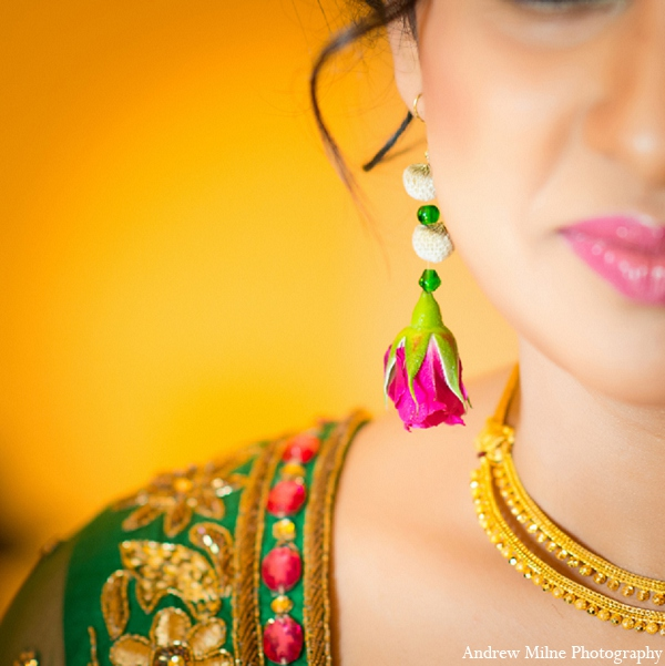 Indian wedding bridal fashion accessories in Coral Springs, Florida Indian Wedding by Andrew Milne Photography