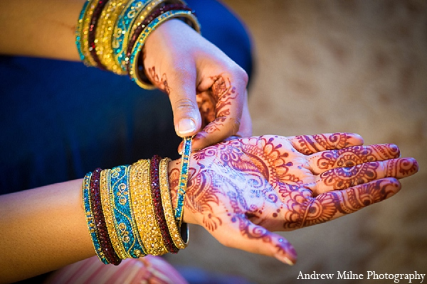 Indian wedding bridal mehndi night in Coral Springs, Florida Indian Wedding by Andrew Milne Photography