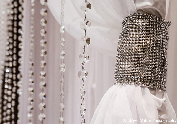 Indian wedding ceremony decor in Coral Springs, Florida Indian Wedding by Andrew Milne Photography