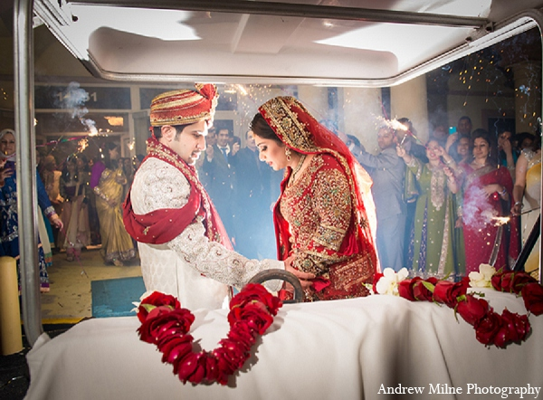 Indian wedding reception groom bride photography in Coral Springs, Florida Indian Wedding by Andrew Milne Photography