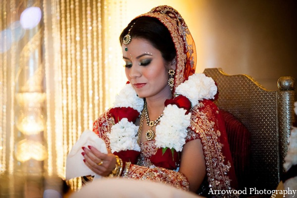 Indian wedding ceremony bride in San Francisco, California Indian Wedding by Arrowood Photography