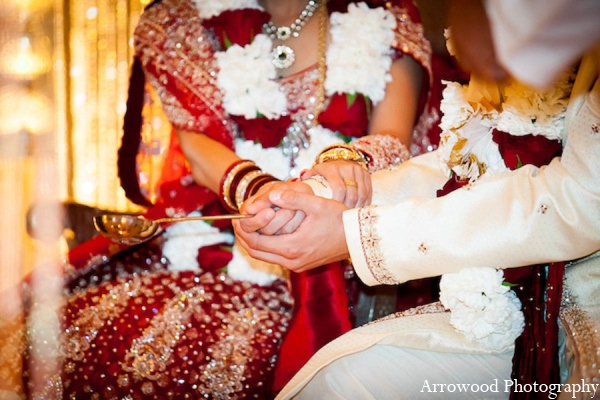 Indian wedding ceremony photos in San Francisco, California Indian Wedding by Arrowood Photography