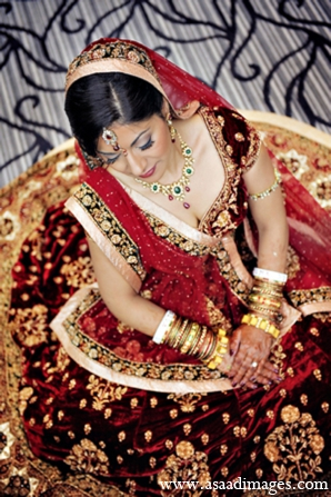 Indian wedding bride fashion jewelry in Orlando, Florida Indian Wedding by Asaad Images