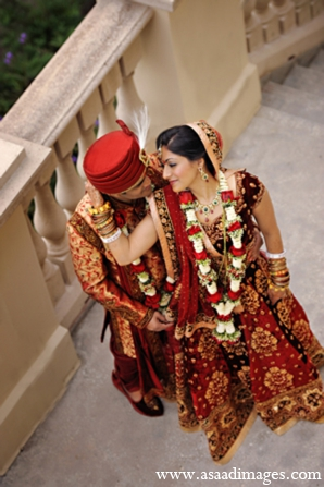 Indian wedding ceremony bride groom in Orlando, Florida Indian Wedding by Asaad Images