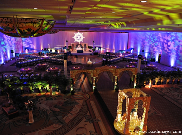 Indian wedding design planning decor in Orlando, Florida Indian Wedding by Asaad Images