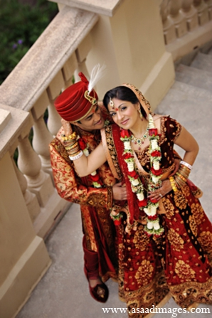 Indian wedding portrait photo ideas in Orlando, Florida Indian Wedding by Asaad Images
